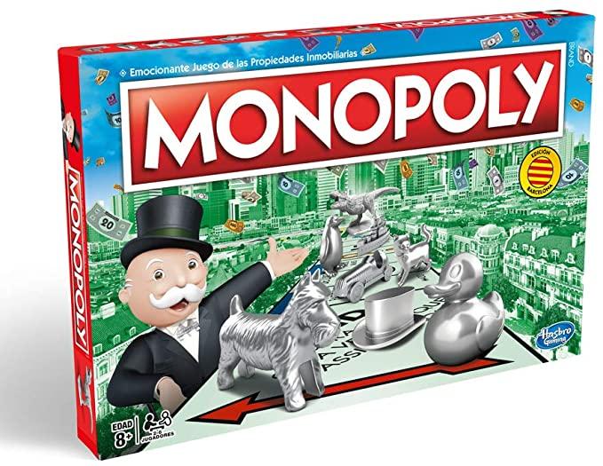 Monopoly - Edición Cataluña, Calles de Barcelona